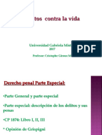 Delitos Contra Las PERSONAS 2017