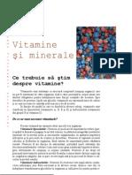 3 vitamine si minerale