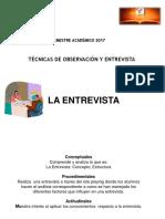 PPT 6.La Entrevista.B