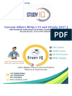 UPSCSpecialMCQ19thand20thJuly