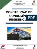 Construção de Condomínio Residencial