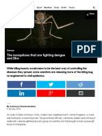 BBC - Future - The Mosquitoes That Are Fighting Dengue and Zika