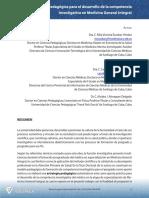 Estrategia pedagógica para el desarrollo de la competencia investigativa en Medicina General Integral