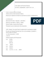 Apuntes de Finanzas Publicas.