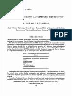 FAMILIAL STUDIES OF AUTOIMMUNE THYROIDITIS*