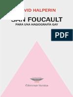 David Halperin - San Foucault Para Una Hagiografia Gay (2)