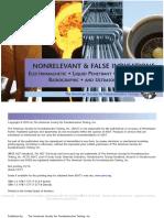 Nonrelevant and False Indications 2 (eBook)
