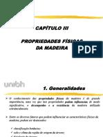 UNIBH_Estruturas de Madeira Apresentação 2° aula