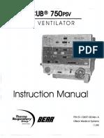 Bear Cup 750 PSV - Instruction Manual
