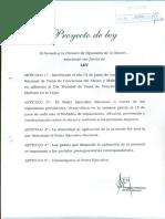 Proyecto de Ley Día Nacional de Toma de Conciencia Del Abuso y Maltrato en La Vejez