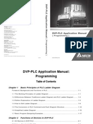 Delta Ia-plc Dvp-plc Pm en 20140804 | Programmable Logic Controller