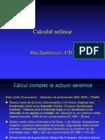 calcul static neliniar modificat.ppt
