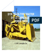 d11r Track--type Tractor d11 CD Carrydozer Power Traiin