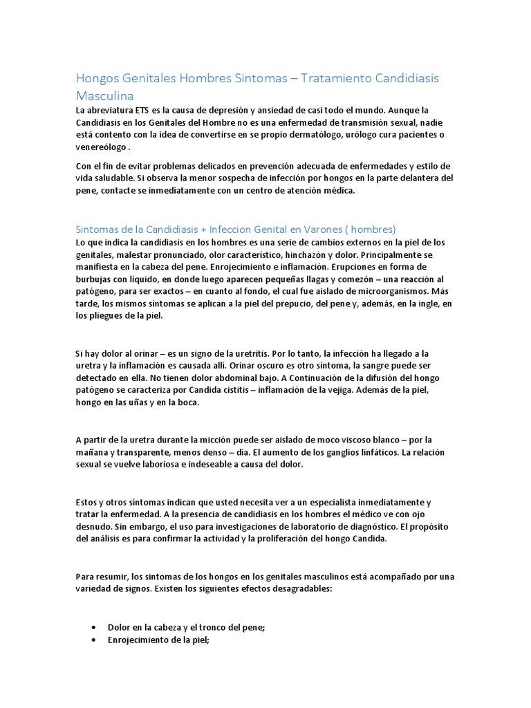 sintomas de infeccion de orina por hongos