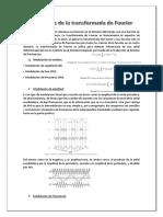 Aplicaciones de La Transformada de Fourier-(1)