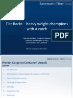 IUMI Webinar Flat Racks