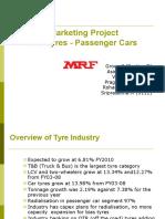 Marketing Project-MRF Final