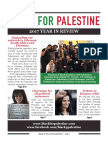 Black4Palestine 2017 Newsletter
