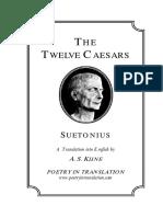 Twelve Caesars, The - Suetonius & a. S. Kline