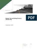 Test Protocol Bumper