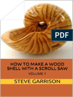 How to Make a Wood Shell With a Scroll Saw