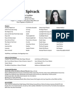 Amanda Spivack Resume