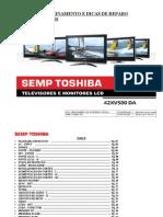 Toshiba 42xv500da Treinamento Lcd Tv-s [ET]