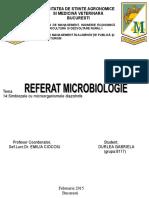 Referat Microbiologie
