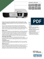 Epson EB-X41 XGA 3600 Lumens XGA 3LCD Projector