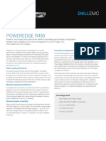 Dell PowerEdge R430 Spec Sheet