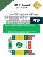 Dauerkartenantrag SC DHfK Leipzig 2016-2017