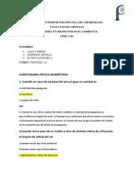 Cuestionario OPTICA GEOMÉTRICA