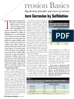 High Temperature Corrosion by Sulfidation