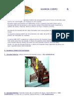 Medidas Do Guarda-Corpo de Uma Escada