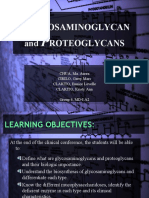 Glycosaminoglycan and Proteoglycans