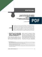 La Prescripción Del Empleo Público en El Regimen Laboral Especial Cas.