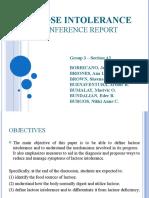 Lactose Intolerance a2 Grp 3