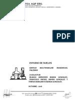 Estudio de Suelos Palermo