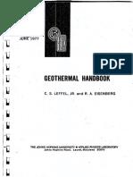 Gothermal Handbook