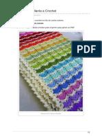 Ctejidas.co-patrón 1315 Manta a Crochet