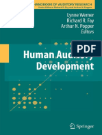 (Springer Handbook of Auditory Research volume Vol. 43) Lynne Werner, Richard R. Fay, Arthur N. Popper-Human Auditory Development (2012).pdf