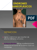 Exposicion Sd Paraneoplasicos.dr LEON.