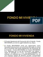 Fondo Mi Vivienda Diapositivas