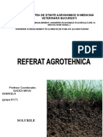 referat agrotehnica