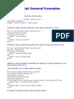 QTP Practice Programes
