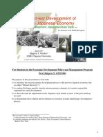 Postwar Development of the Japanese Economy(Otsubo NagoyaU)