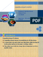The Omnidirectional Writobot Presentation 2