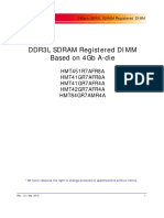 Computing Ds 4Gb DDR3L(a-Ver)Based RDIMMs(Rev.1.0)