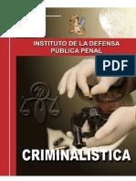 Criminalistica Def Pub Penal