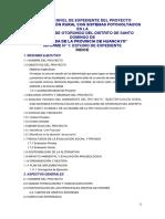 Proyecto Electrificacion Rural Huancayo Completo